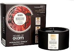 Parfumuri și produse cosmetice Lumânare parfumată - House of Glam Mohogany&Teakwood Candle