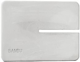 Parfumuri și produse cosmetice Мыльница маленькая, серая - Banbu Soap Holder Mini Grey