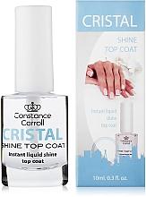 Parfumuri și produse cosmetice Lac-uscător pentru unghii - Constance Carroll Cristal Shine Top Coat