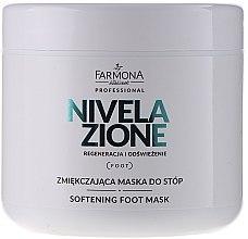 Parfumuri și produse cosmetice Mască hidratantă pentru picioare - Farmona Professional Nivelazione Softening Foot Mask