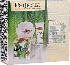 Parfumuri și produse cosmetice Set - Perfecta Natural Lift Set (cr/50ml + cr/15ml)