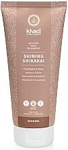 """Parfumuri și produse cosmetice Șampon """"Shikakai"""" - Khadi Shampoo Shikakai Shine"""