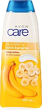 Parfumuri și produse cosmetice Loțiune de corp - Avon Care Revitalising with Banana Body Lotion