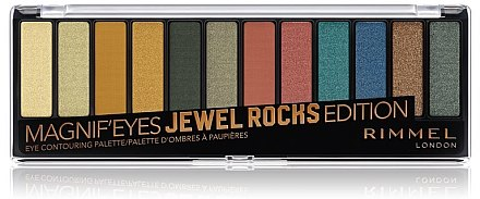 Paletă farduri de ochi - Rimmel Magnif' Eyes Jewel Palette — Imagine N1