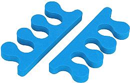 Parfumuri și produse cosmetice Separator degete, albastru - Tools For Beauty Toe Separator Blue