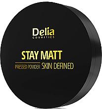 Parfumuri și produse cosmetice Pudră de față - Delia Stay Matt Skin Defined Pressed Powder