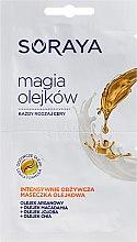 Parfumuri și produse cosmetice Mască de față - Soraya Magic Of Oils Intensively Nourishing Oil Mask