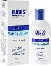 Parfumuri și produse cosmetice Emulsie pentru corp - Eubos Med Basic Skin Care Liquid Washing Emulsion