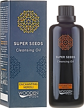 Parfumuri și produse cosmetice Ulei hidrofil - Wooden Spoon Super Seeds Enchanting Neroli Cleansing Oil