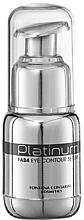Parfumuri și produse cosmetice Ser pentru zona ochilor - Fontana Contarini Platinum Eye Contour Serum