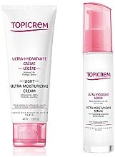Parfumuri și produse cosmetice Set - Topicrem Skin Care Gift Set (cr/40ml + ser/7ml)