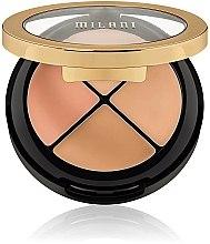 Parfumuri și produse cosmetice Set corector pentru față - Milani Conceal Perfect All-In-One Concealer Kit