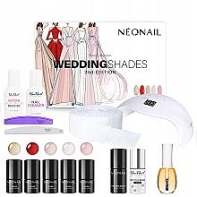 Parfumuri și produse cosmetice Set - Neonail Professional Wedding Shades Set (n/polish/5x3ml + n/base/7.2ml + n/top/7.2ml + lamp/1pc + n/cleaner/50ml + n/remover/50ml + n/pads/250pcs + nail/file/2pcs + n/oil/15ml)