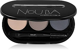 Parfumuri și produse cosmetice Set de farduri pentru sprâncene - NoUBA Eyebrow Powder Kit
