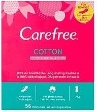 Parfumuri și produse cosmetice Absorbante de zi, 56 bucăți - Carefree Cotton Fresh
