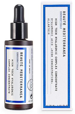 Ser cu acid hialuronic pentru față - Beaute Mediterranea High Tech Hyaluronic Complex Concentrate