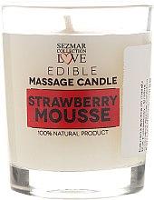 Parfumuri și produse cosmetice Preț redus! Lumânare decorativă parfumată - Hristina Cosmetics Sezmar Collection Edible Massage Candle*