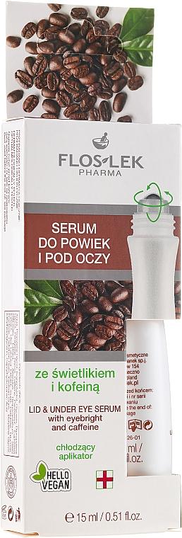 Cremă cu extract de Euphrasia și cofeină pentru zona din jurul ochilor - Floslek Eye Care Serum