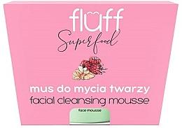"""Parfumuri și produse cosmetice Mousse de curățare pentru față """"Zmeură și Migdale"""" - Fluff Facial Cleansing Mousse Raspberry & Almonds"""