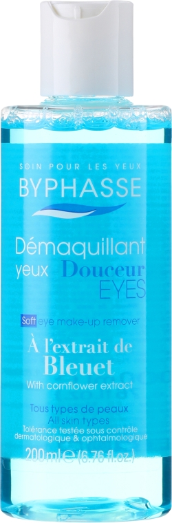 Loțiune demachiantă pentru ochi - Byphasse Gentle Eye Make-up Remover