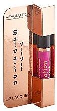 Parfumuri și produse cosmetice Lac de buze - Makeup Revolution Salvation Velvet Lip Lacquer