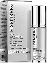 Parfumuri și produse cosmetice Soluție cu acțiune triplă pentru riduri, cearcăne și umflături - Eisenberg Excellence Soin Sublimateur Eye Contour Anti-age Care