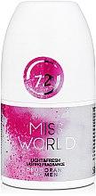 Parfumuri și produse cosmetice Vittorio Bellucci Miss World - Deodorant parfumat roll-on