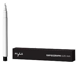 Parfumuri și produse cosmetice Rapidograf 0,20 mm - MylaQ Rapidograph
