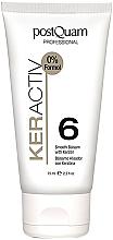 Parfumuri și produse cosmetice Balsam cu cheratină pentru îndreptarea părului - PostQuam Keractiv Smooth Balsam