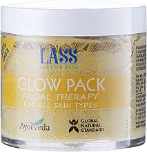 Parfumuri și produse cosmetice Mască de curățare pentru față - Lass Naturals Glow Pack Facial Therapy