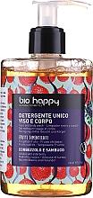 """Духи, Парфюмерия, косметика Гель для лица и тела """"Земляничное дерево и бузина"""" - Bio Happy Arbutus & Elderberry Face & Body Wash"""