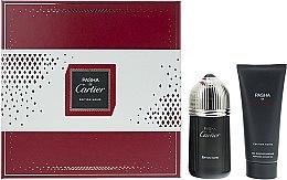 Parfumuri și produse cosmetice Cartier Pasha de Cartier Edition Noire - Set (edt/100ml + sh/gel/100ml)