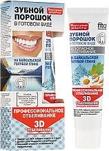 Parfumuri și produse cosmetice Praf de dinți pe argilă albastră Baikal 3D - Praf de dinți FitoKosmetic