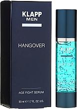 Parfumuri și produse cosmetice Ser facial pentru bărbați - Klapp Men Hangover Age Fight Serum