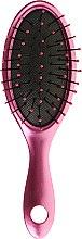 Parfumuri și produse cosmetice Pieptene pentru păr - Wet Brush Metallic Key Chain Pink