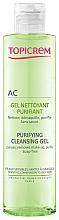 Parfumuri și produse cosmetice Gel de curățare pentru față - Topicrem Purifying Cleansing Gel