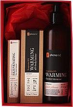Parfumuri și produse cosmetice Set - Phenome Tangerine Spa (cr/10ml + b/but/50ml + sh/mous/250ml)