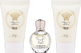 Parfumuri și produse cosmetice Versace Eros Pour Femme - Set (edp 5ml + b/lot/2*25ml)