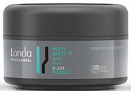 Parfumuri și produse cosmetice Ceară pentru păr cu Aspect Mat și Fixare Flexibilă - Londa Professional Men Shift It Matt Clay