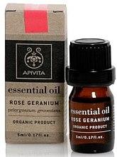 """Parfumuri și produse cosmetice Ulei esențial """"Geranium roz"""" - Apivita Aromatherapy Organic Geranium Oil"""