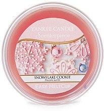 Parfumuri și produse cosmetice Ceară aromatică - Yankee Candle Snowflake Cookie Melt Cup