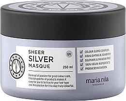 Parfumuri și produse cosmetice Mască pentru păr blond - Maria Nila Sheer Silver Masque