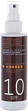 Parfumuri și produse cosmetice Ulei de corp - Korres Clear Sunscreen Body Face Walnut Coconut Oil SPF10