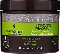 Parfumuri și produse cosmetice Mască de păr - Macadamia Professional Ultra Rich Repair Mask