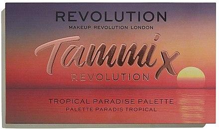 Paletă fard de ochi - Makeup Revolution X Tammi Tropical Paradise Palette — Imagine N2