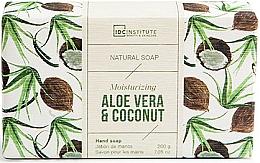 Parfumuri și produse cosmetice Săpun - IDC Institute Moisturizing Hand Natural Soap Aloe Vera & Coconut
