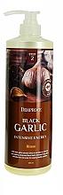 Parfumuri și produse cosmetice Mască cu extract de usturoi negru pentru păr - Deoproce Black Garlic Intensive Energy Hair Pack