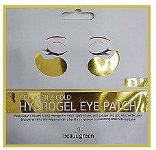Parfumuri și produse cosmetice Гидрогелевые патчи для глаз - BeauuGreen Collagen & Gold