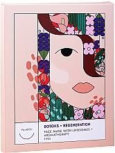 "Parfumuri și produse cosmetice Маска для лица ""Ботокс + регенерация с липосомами + ароматерапия"" - You & Oil Triple Pack Face Mask Botoks + Regeneration With Liposomes + Aromatherapy"