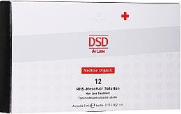 Parfumuri și produse cosmetice Medicament pentru mezoterapie - Simone DSD De Luxe Medline Organic 12 MHS – Mesohair Solution Hair Loss Treatment